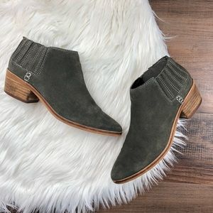 Dolce Vita Gray Keiton Ankle Boots